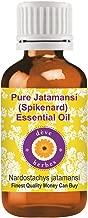Deve Herbes Pure Jatamansi (Spikenard) Essential Oil (Nardostachys jatamansi) 100% Natural Therapeutic Grade Steam Distilled 5ml