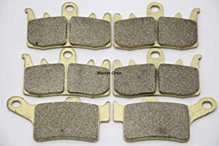Master Chen Front Rear Brake Pads Brakes for Can Am Spyder RS RT SE5 SM5 SM6 SE6 FA630F FA631R MC0411-PAD