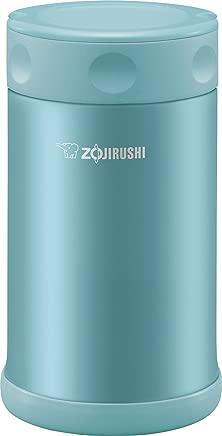 Zojirushi Stainless Steel Food Jar 25 oz. / 0.75 Liter, Aqua Blue