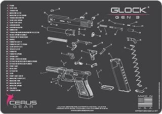 Cerus Gear Glock Gen3 Schematic Promat, Charcoal Gray/Pink