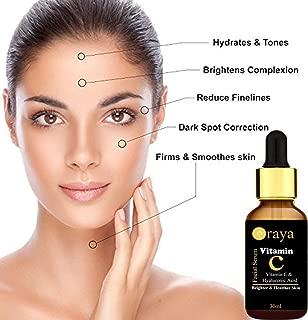 Oraya Vitamin C Face Serum for Skin Brightening, Anti Ageing & for Glowing Skin 30ml