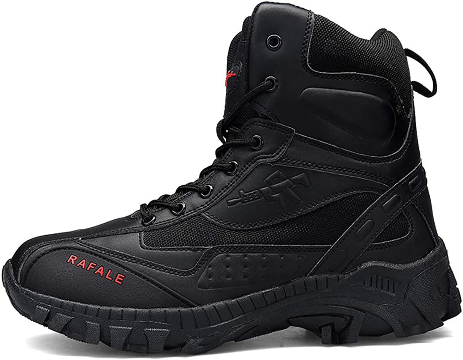 Mzq-yq Tactical Boots Tactical shoes Summer Outdoor Desert Army Fan High To Help Desert Boots Men's Large Size 44,45