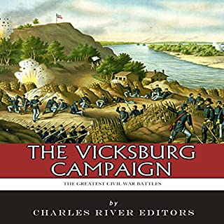The Greatest Civil War Battles: The Vicksburg Campaign cover art
