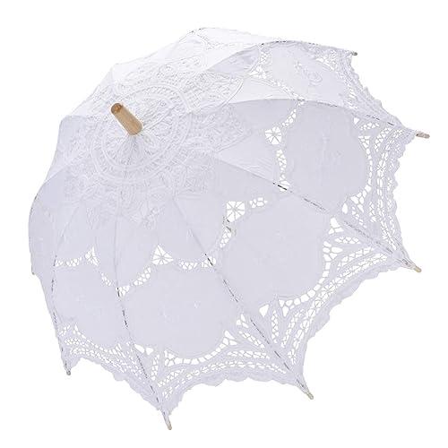 c8d939aef Tinksky Lace Umbrella Parasol Romantic Wedding Umbrella Photograph