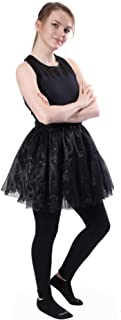 Classic Layered Princess Tutu for Valentines, Easter, Costumes, Fun Runs or Everyday Wear w/Leggings (CH, Standard, Plus)