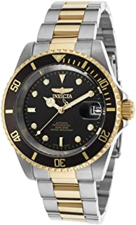 Men's 8927OB Pro Diver 18k Gold Ion-Plated and Stainless Steel Watch, Two Tone/Black