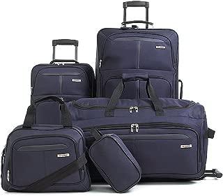 Fairfield Ii 5 Piece Luggage Set Navy