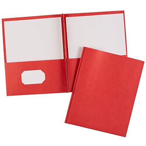 Poly Folders With Fasteners Amazon Com: Red Pocket Folder With Fasteners: Amazon.com