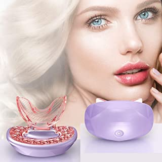 Dratal Lip Plumping Device Fuller Lips Lip Plumper Rechargeable Lip Enhancer Tool Light Therapy Lip Care Anti-Aging for Se...