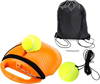 Solo Tennis Trainer | Tennis Buddy | Tennis Drills Equipment | Tennis Backboard and Rebounder | Tether Tennis Rebound Ball...