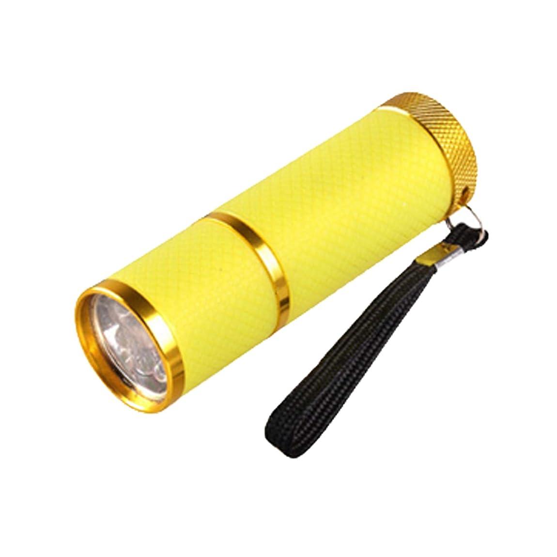 典型的なかご予測子ネイル?レジンクラフト LED UVライト イエロー BY-NL550 ネコポス発送 送料無料