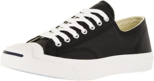 Converse Jack Purcell Leather Ox Homme paniers Mode Mode Noir  promotions passionnantes