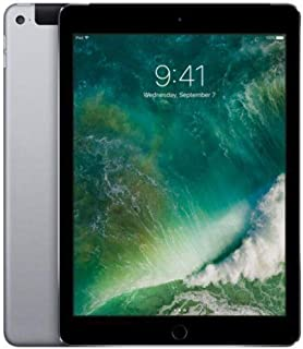 Apple iPad Air 2 (Space Gray, 32GB, WiFi + 4G) Factory Unlocked (Renewed)