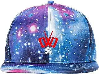 Lisa Cave CWC Spy Ninja Galaxy Baseball Cap Adult Adjustable Snapback Dad Hat Unisex Blue