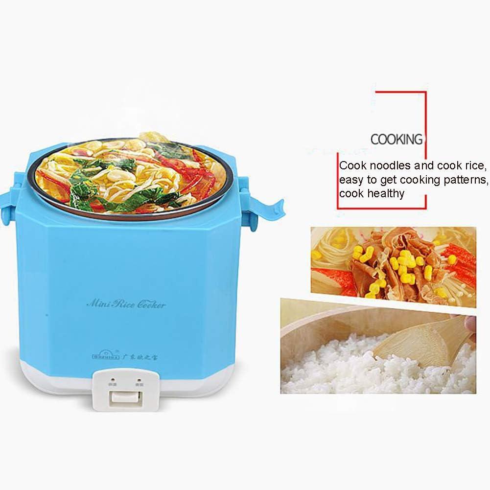 GAYBJ Riz à Vapeur Cuisinière avec Cuisine antiadhésifs Pot One-Touch Operation Riz Parfait en Quelques Minutes pour Une ou Deux Personnes 1.5L, 300W,B B