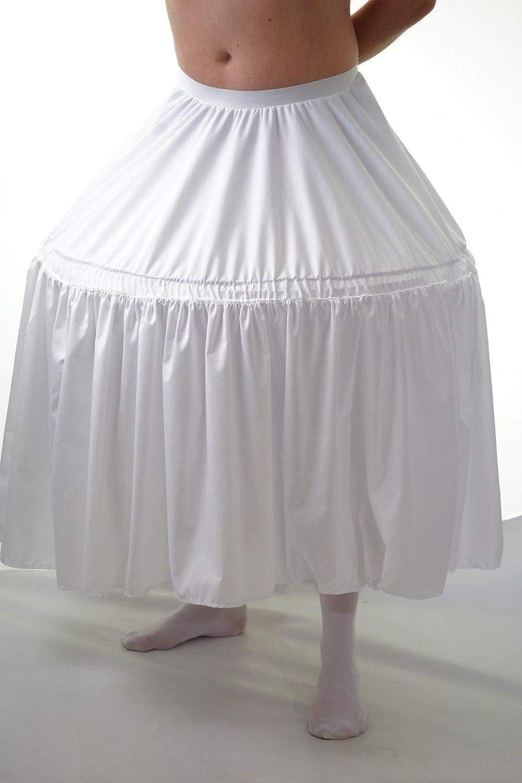 CL COSTUMES PiratesSteampunkPanto DamesDragWidow TwankyUnisex OVERSIZED LONG HOOPED PETTICOAT All Adult Sizes (Ladies 3842, Cream)
