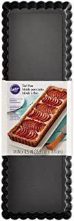 Wilton Extra Long Non-Stick Tart and Quiche Pan, the Fluted Edges on Your Tarts and Quiches will Add a Touch of Flair, 14 ...