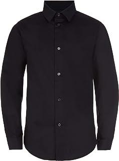 Boys' Slim Fit Button Down Dress Shirt
