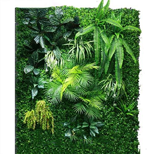 YNFNGXU Plantas con Cobertura Artificial, Paneles Verdes Resistentes A Los Rayos Ultravioletas For El Patio Exterior O Interior del Jardín Y/O Decoración For El Hogar (Color : 03)