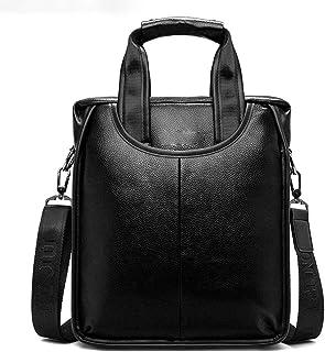 KEHUITONG Travel Briefcase With Storage Bag - Men's Vintage Leather Messenger Bag, Shoulder Bag Laptop Bag Handbag Business Briefcase Suitable For Travel Toothbrush, comfortable electric toothbrush, e