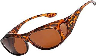 Perfectmiaoxuan - Gafas de Sol Polarizadas para llevamos gafas graduadas para hombre mujere/Gafas de sol cubren gafas graduadas Excelentes para Ciclismo Pescar y Conducir