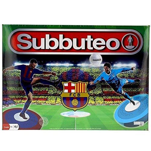 FC Barcelona - Playset Subbuteo, New Edition, Color Azul (Eleven Force 81076)