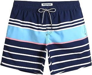 Sponsored Ad - maamgic Mens Swim Trunks Quick Dry Swim Shorts with Mesh Lining Funny Swimwear Bathing Suits