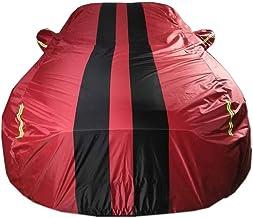 Car Cover Compatible with Mercedes-Benz GLS300 GLS320 GLS350 GLS350D GLS400 GLS500 Waterproof Breathable Windproof Full Car Covers Color : Red, Size : GLS300