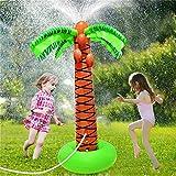 61' Aufblasbare Palme Sprinkler Spielzeug, Wasser Spiele Sprayer Für Outdoor-Party Rasen Hinterhof-Wasser-Spielzeug Für Kleinkind, Kinder, Familie