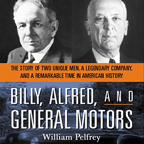 Billy, Alfred, and General Motors audiobook cover art