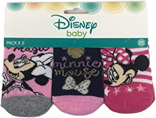 Calcetines de invierno Minnie Mouse Disney Neonada, 3 pares, tallas 0/12 meses - HS0751/2 .mesi 06/12 multicolor