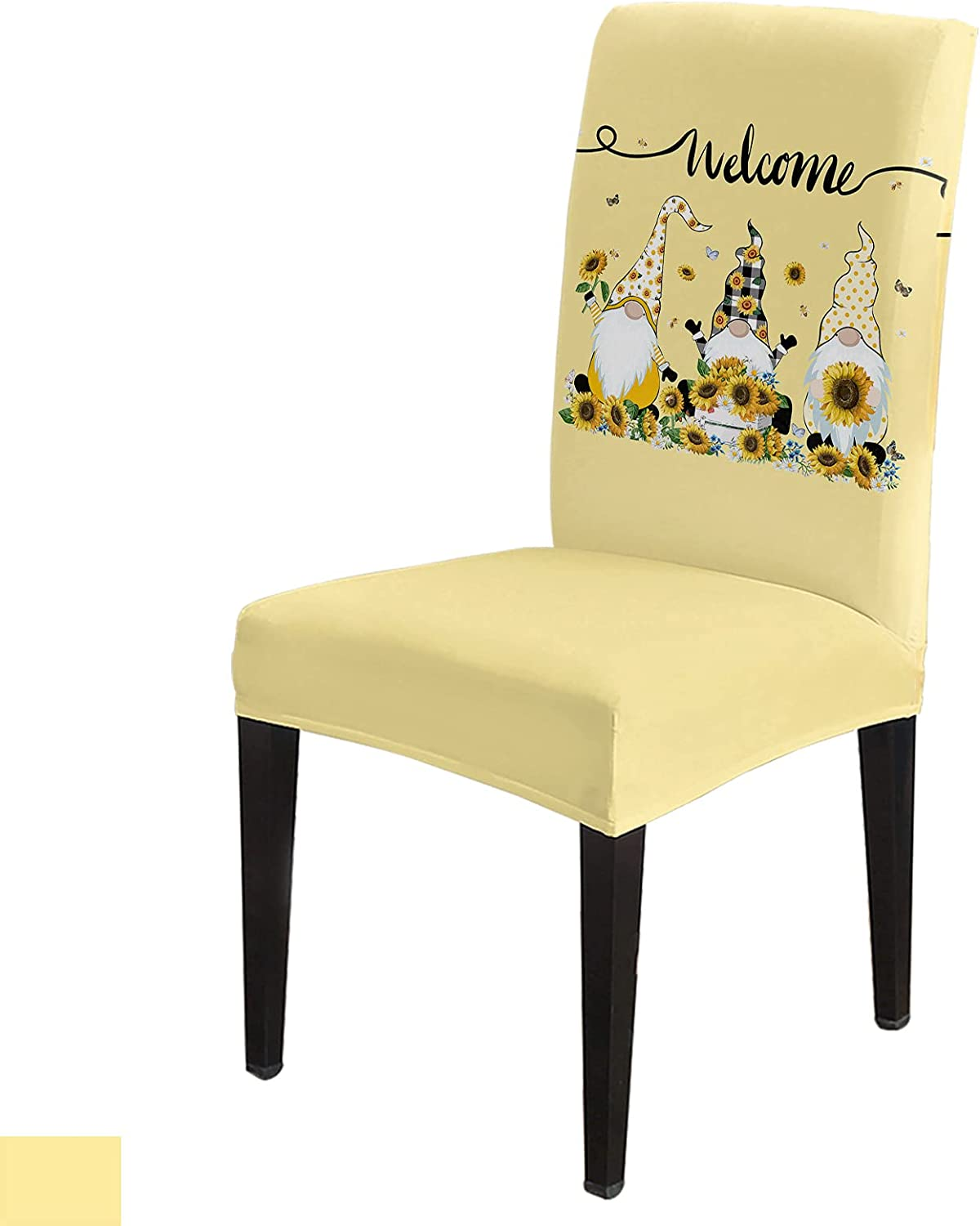 Funny Spring new work one after another Gnome Award Chair Slip Covers Protecto Stretchable Dining