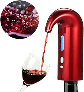 LIFAQI Aérateur et Distributeur de Vin Rouge Force Magnétique Distributeur Aérateur de Vin électrique Multi-Smart Verseur ...