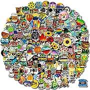 #LightningDeal 300 PCS Stickers Pack (50-850Pcs/Pack), Colorful VSCO Waterproof Stickers, Cute Aesthetic Stickers. Laptop, Water Bottle, Phone, Skateboard Stickers for Teens Girls Kids, Vinyl Sticker.