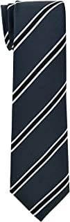 Retreez British Bar Striped Woven Boy's Tie - 8-10 years - Various Colors
