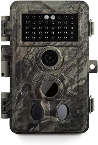 Meidase Game Trail Camera 20MP 1080P, 0.2s Trigger Time Motion Activated, No Glow Night Vision, IP66 Waterproof Cam f...