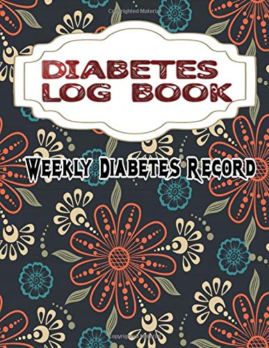 Daily Diabetic Log: Simple Diabetes Checker Blood Sugar And Insulin Journal Matte Cover Design White Paper Sheet Size 8.5 X 11 Inch ~ Type - Breakfast # Blood 108 Page Quality Prints.