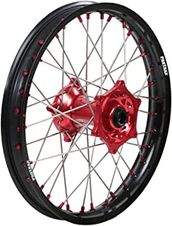 Protrax Complete Rear Wheel 18-by-2.15 inch Red