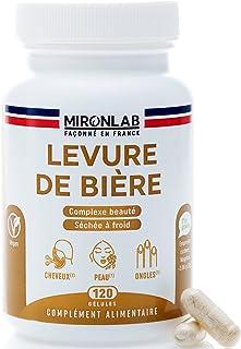 Levure de bière Active | Associé à des nutriments pour une action renforcée | Teneur élevée 1640mg/jour | Beauté des cheve...