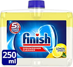 Finish Dishwasher Cleaner Liquid, Lemon Sparkle, 250ml, 1 Pack