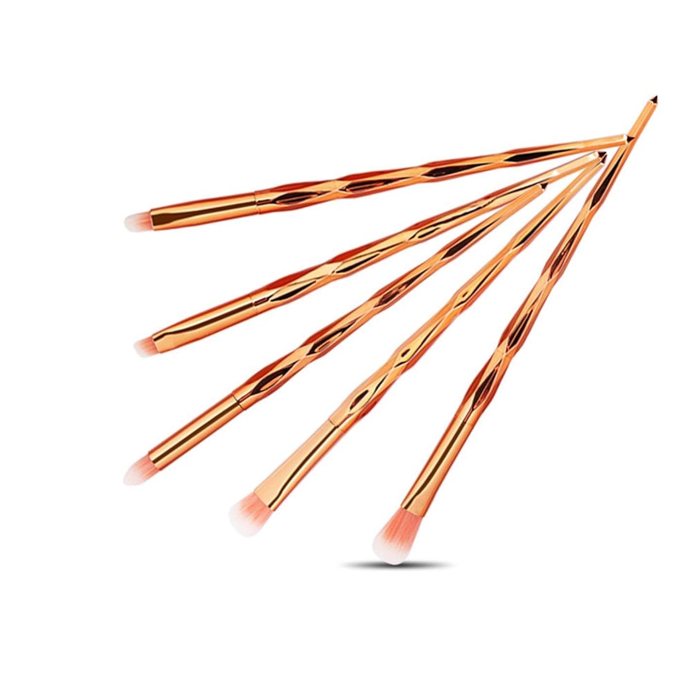 画面かかわらず発火するメイクブラシ 化粧ブラシ 5本 リップ アイシャドウブラシ シャオメイスター
