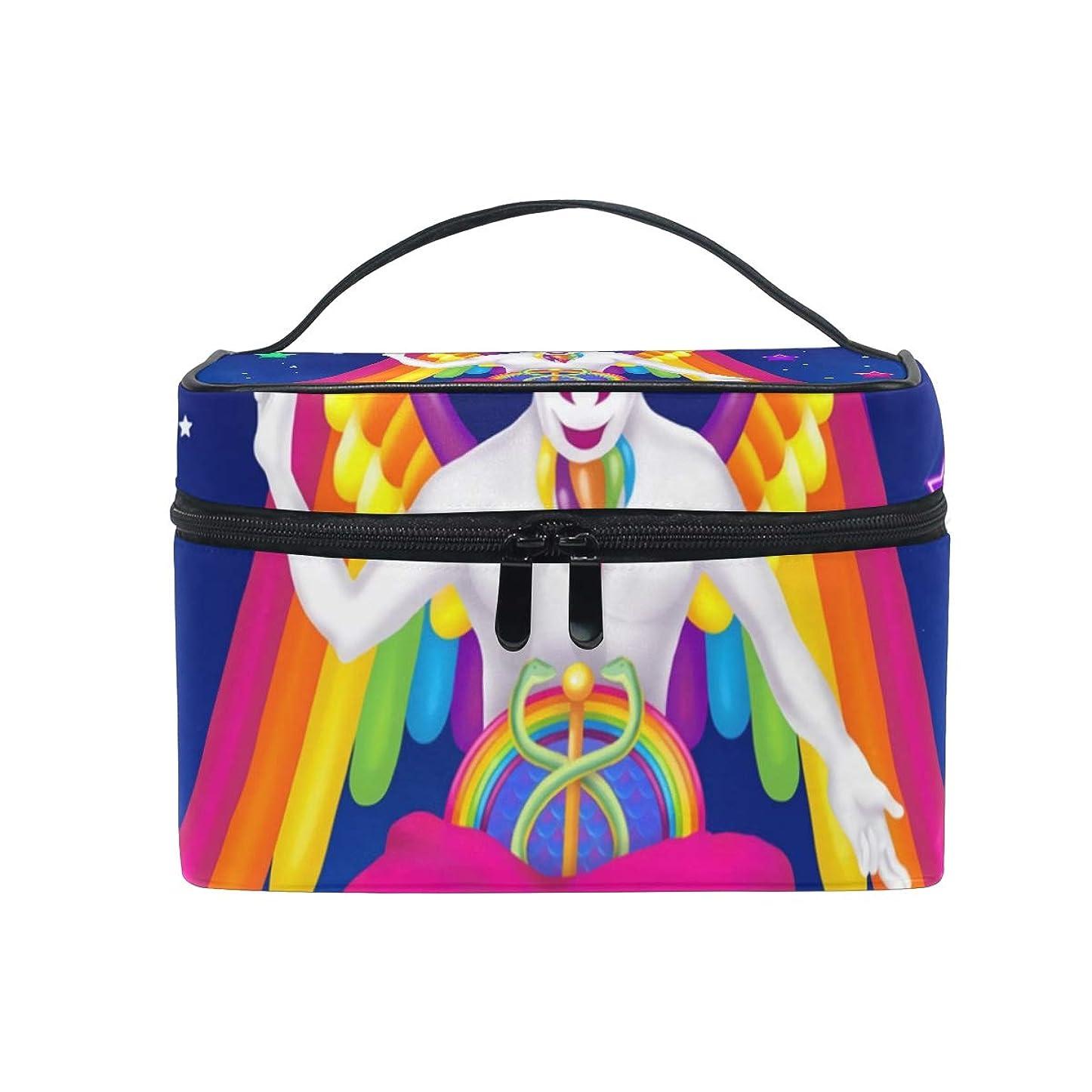 証明書ぞっとするようなディレクターメイクボックス 多彩な悪魔柄 化粧ポーチ 化粧品 化粧道具 小物入れ メイクブラシバッグ 大容量 旅行用 収納ケース