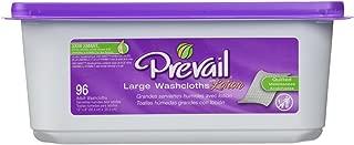 Prevail Premium Washcloths 96ct Tub (Case of 6)