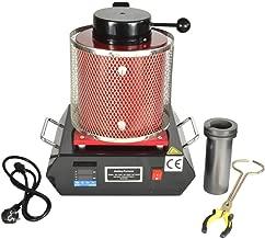 Automatic Electric Melting Furnace,2KG / 3KG Digital Melting Furnace Metal Kiln Refining Alloy Aluminum Gold Silver 110V (3KG Red)