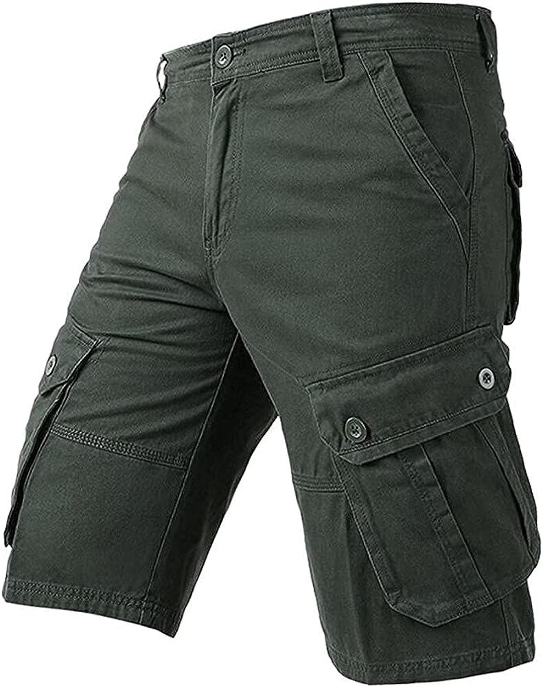 GHJX Mens Summer Shorts Cargo Shorts