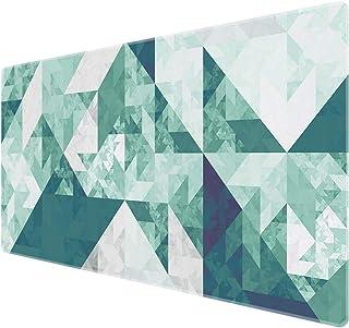 【BenvoDirectのみが正規販売店です】Benvo マウスパッド 超大型 防水 ゲーミング マウスパッド 90*40cm キーボードパッド 滑り止めゴム底 滑り止め マウス対応 耐洗い表面 快適操作性 不整なパターン 緑