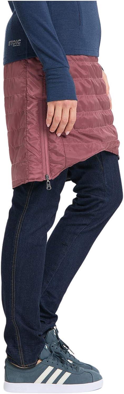 Skirt Kunstfaserrock STOIC Damen Womens Padded Reversible HakkasSt