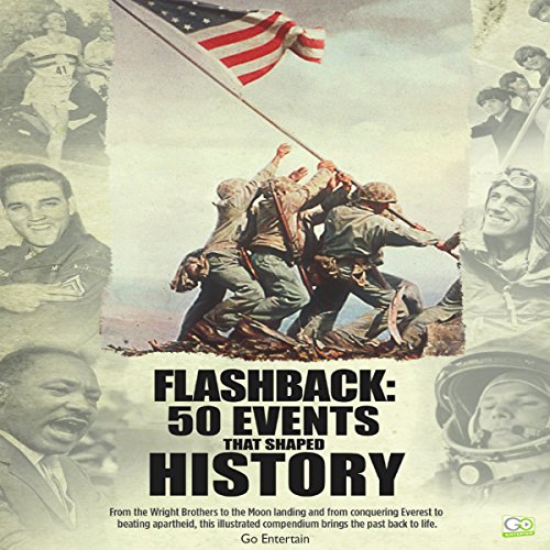 Flashback: 50 Events That Shaped History audiobook cover art