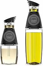 Belwares Olive Oil Dispenser Bottle Set – 2 Pack Oil and Vinegar Cruet with..