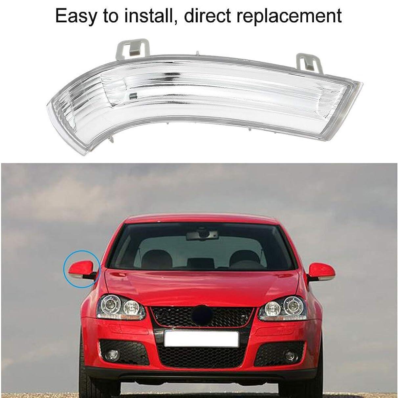 Jonathan-Shop - Car styling Left Side Wing Mirror Indicator Turn Signal Bulb for VW MK5 Golf PASSAT JETTA 1K0949101 car accessories
